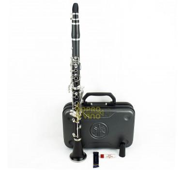 Clarinete Sib Yamaha Japão YCL 450 Madeira Original Boquilha  Estojo ( Video )