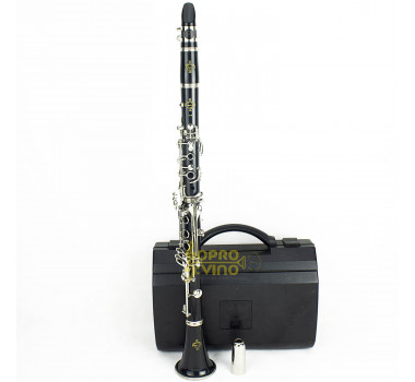 Clarinete Sib Buffet Crampon 17 Chaves Original Made in Germany 518 ( Video )
