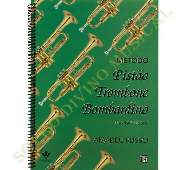 Método Trompete Bombardino Trombone Amadeu Russo