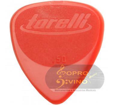 Palheta 050 mm para Violão Cavaco Guitarra Torelli