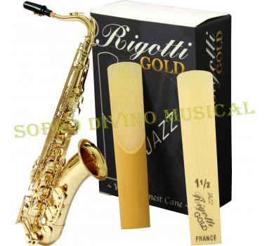 Palheta Rigotti Gold France Sax Tenor Numerações