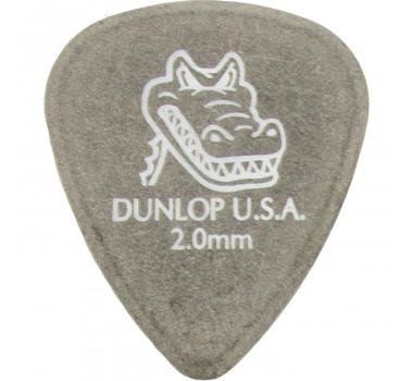 Palheta Violão Guitarra Dunlop Gator Grip 2mm