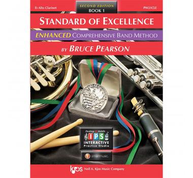 Método Clarone Alto Livro Standard of Excellence Band Method by Bruce Pearson c/ 2 Cd´s Livro 1 ( Book 1 )