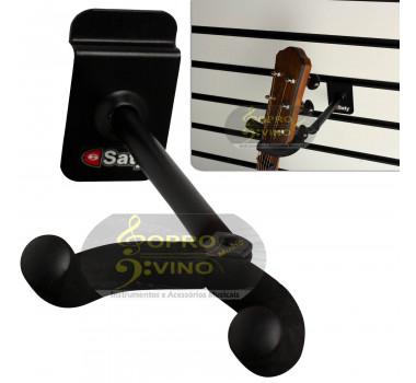 Suporte Painel Canaletado Slatwall Violão Guitarra Baixo Cavaco Saty SPD01