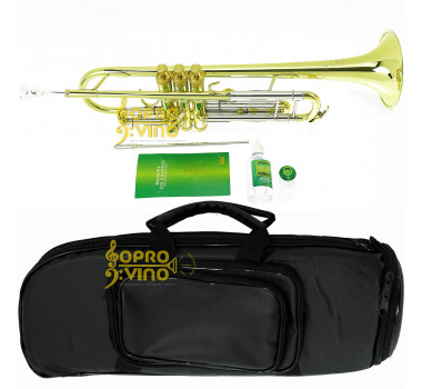 Trompete Sib Weril WNTR1-37 Laqueado Profissional WEINGRILL & NIRSCHL c/ Bag e Acessórios