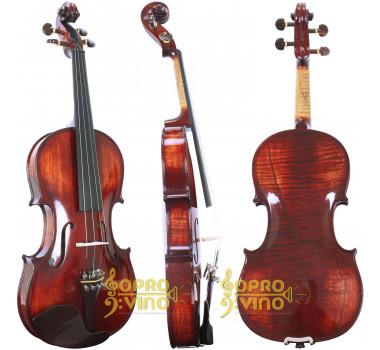 Violino 4/4 Rolim J.A. Francis Custom Teller Profissional Natural Alto Brilho