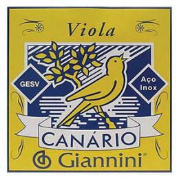 Encordoamento Viola Caipira Canário Giannini GESV