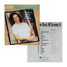 Álbum Kenny G The Best Of Kenny G com Caderno Transcrição Saxofone
