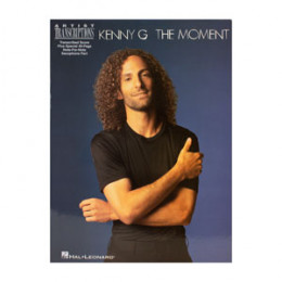 Album Kenny G The Moment com Caderno Transcrição