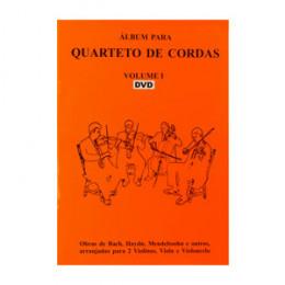 Álbum Quarteto de Cordas Vol 1 DVD Nelson Gama
