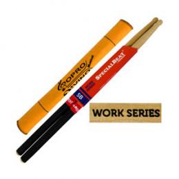 Baqueta 5B C/ GRIP Prostick Special Beat Work Series Marfim Par U.S.A Brinde Flanela