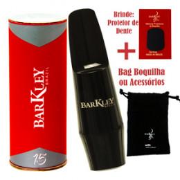 Boquilha Sax Tenor Barkley Classic S Bag Protetor Dente Brindes