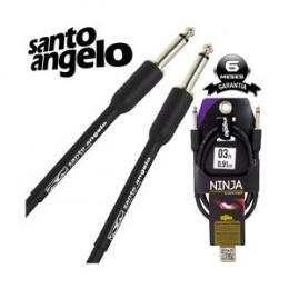 Cabo Santo Angelo Ninja 0,91m Centímetros P10 + P10 Violão Guitarra Baixo