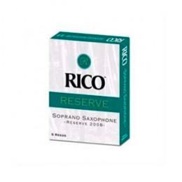 Caixa com 05 palhetas Sax Soprano Rico Reserve