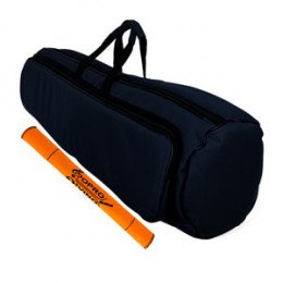 Capa Bag Trombone de Vara Extra Luxo com Bolsos Cor Azul LP Bags Brinde Flanela
