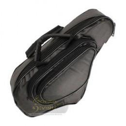 Capa Sax Soprano Curvo PVC Emborrachado Pelucia Alta Qualidade Protection Bags