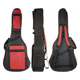 Capa Violão Folk Deluxe Master Luxo Espumada Acolchoada Protection Bags + Brindes