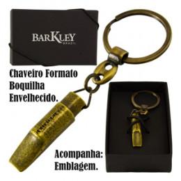 Chaveiro Boquilha Metal Envelhecido Barkley