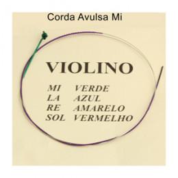 Corda Mi Avulsa Violino Mauro Calixto Tradicional 1º Corda