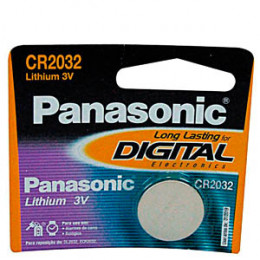 Bateria Lithium 3V Panasonic Long Lasting CR2032