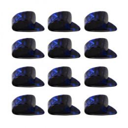 Dedeira para violão 12 Unidades Paganini MP Azul PDV045