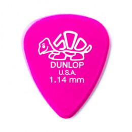 Palheta Delrin 500 1,14mm para Violão Cavaco Guitarra Dunlop