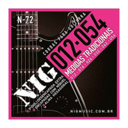 Encordoamento 012 Guitarra NIG N72