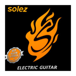 Encordoamento Guitarra .010 Ligth Solez SLG10