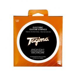 Encordoamento Guitarra .010 Brinde 1º Corda Extra Tagima