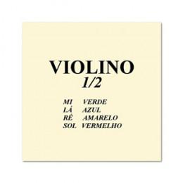 Jogo Corda Violino 1/2 Mauro Calixto (Kit com 4 unidades)