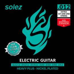 Encordoamento Guitarra .012 Heavy Solez SLG12