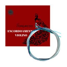 Encordoamento Violino 4/4 Premiumcore Royal KL Musical