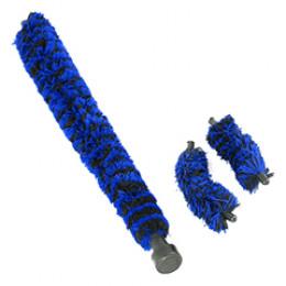 Escova Secadora Limpeza Preta Azul Sax Alto Puxador Borracha Prelúdio ( Kit c/ 3 peças )