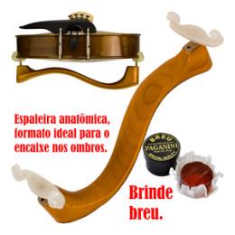 Espaleira Madeira Anatômica Violino Paganini PEV071