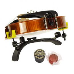 Espaleira Violino 1/2  3/4 4/4 Preta Lunnon Premium + Brinde