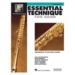 Método Flauta Transversal Livro Essential Technique for Band Interactive Book 3 ( Livro 3 )