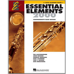 Método Clarone Alto Eb Livro Essential Elements 2000 c/ CD Play Along Book 1 ( Livro 1 )
