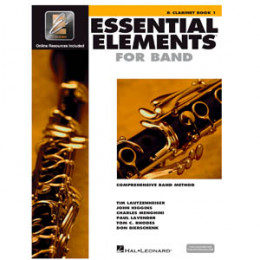 Método Clarinete Sib Livro Essential Elements for Band Interactive Book 1 ( Livro 1 )