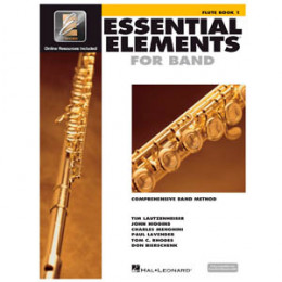 Método Flauta Transversal Livro Essential Elements for Band Interactive Book 1 ( Livro 1 )