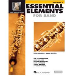 Método Oboé Livro Essential Elements for Band Interactive Book 1 ( Livro 1 )