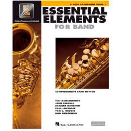 Método Sax Alto Livro Essential Elements for Band Interactive Book 1 ( Livro 1 )