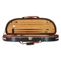 Estojo Case Violino 3/4 ou 4/4 Meia Lua Nylon Veludo Alta Qualidade Jahnke