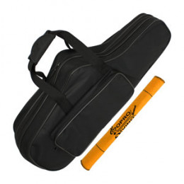 Semi Case Sax Tenor Rígido Hard Bag E.V.A Solid Sound