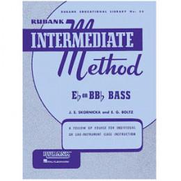 Método Tuba Bombardão Sinfônica Sousafone Rubank Intermediate Method Eb or Bb Bass