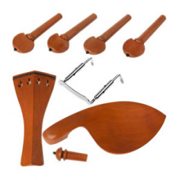 Kit Violino 4/4 Boxwood Hill c/ Pino Colar Preto Dominante Orchestral Cod. 8311