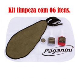 Kit Limpeza Sax Soprano Musical Paganini