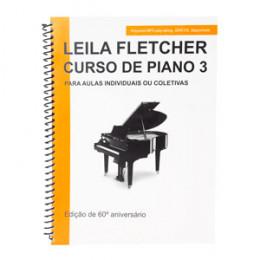 Método Leila Fletcher Curso de Piano 3 Versão em Português CN Ricordi