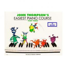 Método John Thompson's Easiest Piano Course Parte 3 c/ CD