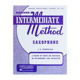 Método Saxofone Rubank Intermediate Saxophone