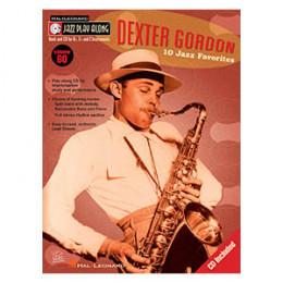 Método Livro Saxofone Dexter Gordon 10 Jazz Favorites Play Along Volume 60
